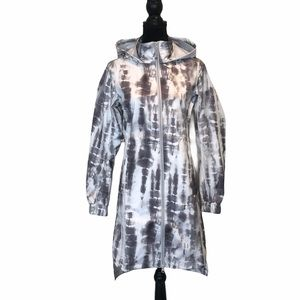 NWT Mondetta tiedye hooded rain performance jacket